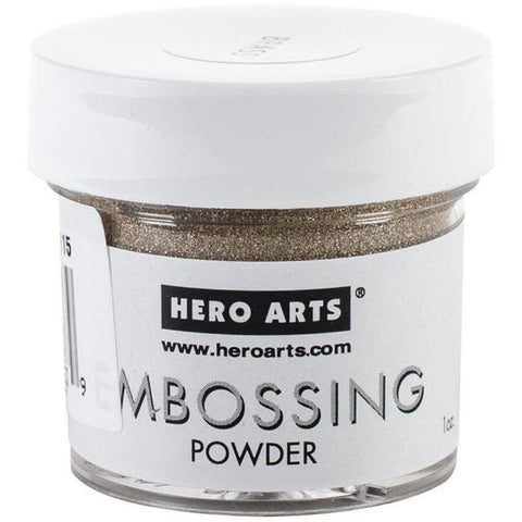 Gold Embossing Powder by Hero Arts - Kat Scrappiness