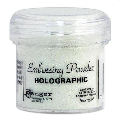 Holographic Embossing Powder by Ranger - Kat Scrappiness
