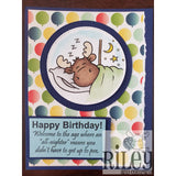 All-Nighters Cling Stamp by Riley & Co - Kat Scrappiness