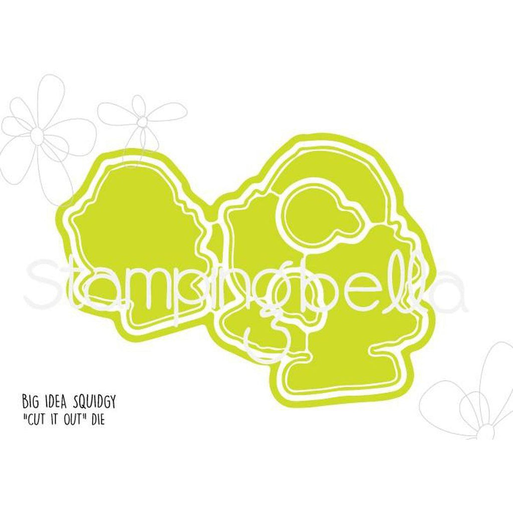 Big Idea Squidgy Craft Die by Stamping Bella - Kat Scrappiness