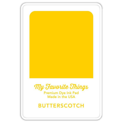 My Favorite Things Premium Dye Ink Pad - Butterscotch