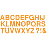 Large Alphabet Dies by Kat Scrappiness