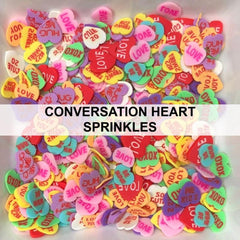 Conversation Heart Sprinkles by Kat Scrappiness