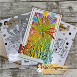 Layered Tulip Bouquet Die Set by Kat Scrappiness