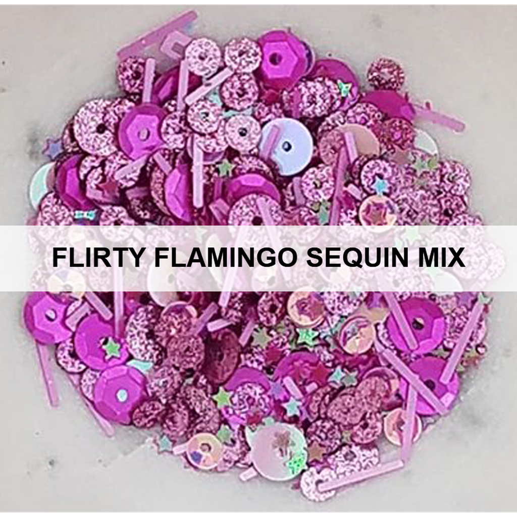 Flirty Flamingo Sequin Mix
