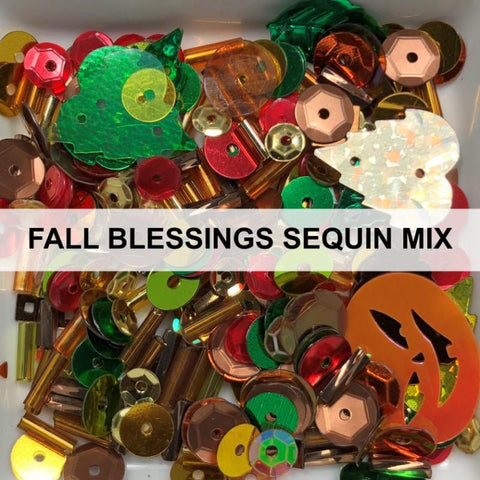 Fall Blessings Sequin Mix