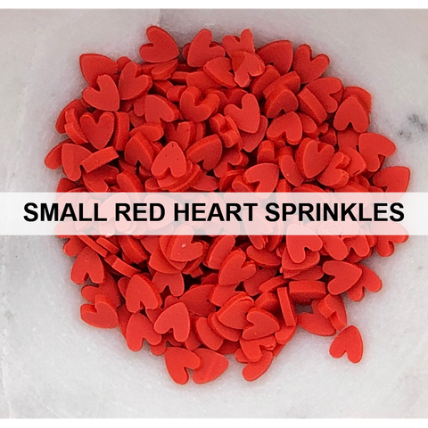 Red Heart Sprinkles (Small) by Kat Scrappiness - Kat Scrappiness