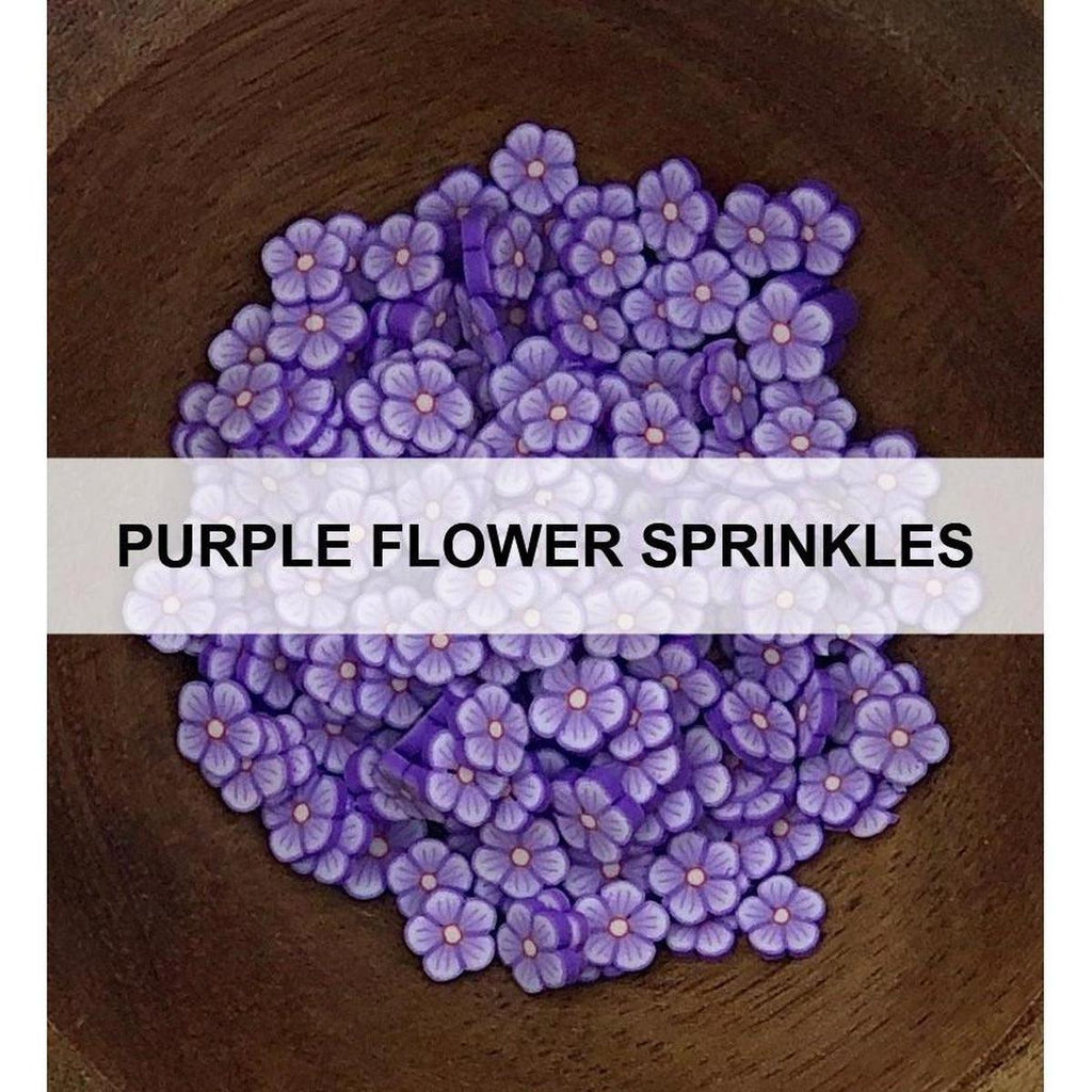 Purple Flower Sprinkles by Kat Scrappiness - Kat Scrappiness