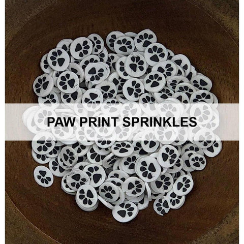 Paw Print Sprinkles - Kat Scrappiness