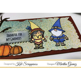 Thanksgiving Gnome Stamp Set by Kat Scrappiness