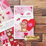 Heartfelt Wishes - Slimline Paper Pad by Kat Scrappiness