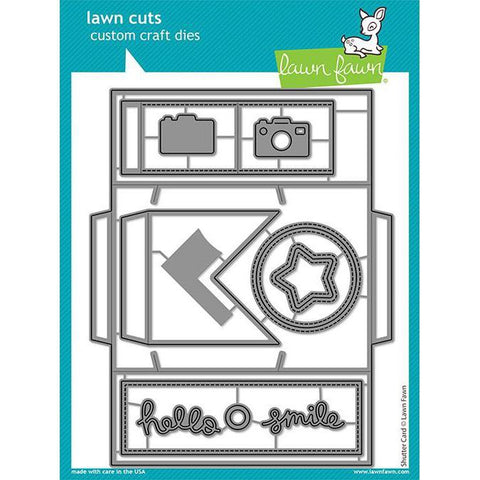 Shutter Card Die by Lawn Fawn