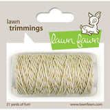 Gold Sparkle Single Cord by Lawn Fawn