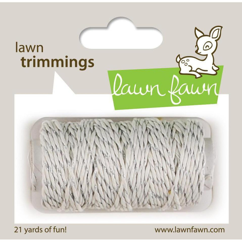 Silver Sparkle Single Cord by Lawn Fawn
