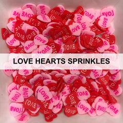 Love Hearts Sprinkles by Kat Scrappiness