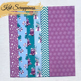 Sugar Plum Fairies - Slimline Paper Pad by Kat Scrappiness