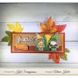 Thanksgiving Gnome Coordinating Dies by Kat Scrappiness