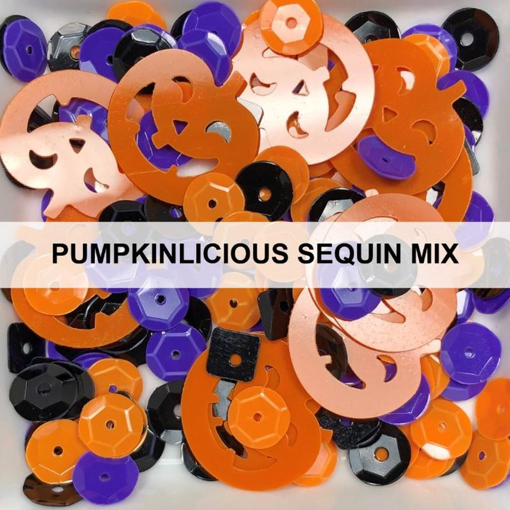 Pumpkinlicious Sequin Mix