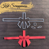 Wrapped Up With a Bow Slimline Dies by Kat Scrappiness