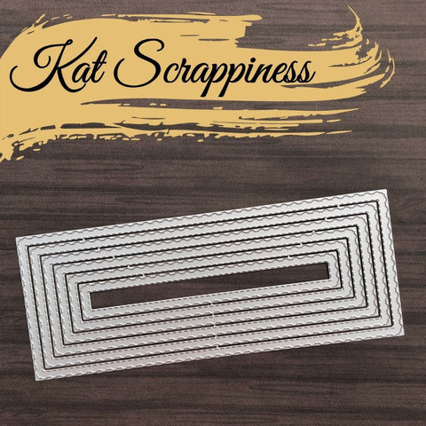 Fancy Scalloped Nesting Slimline Dies by Kat Scrappiness