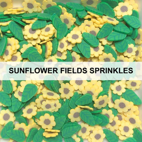 Sunflower Fields Sprinkles by Kat Scrappiness
