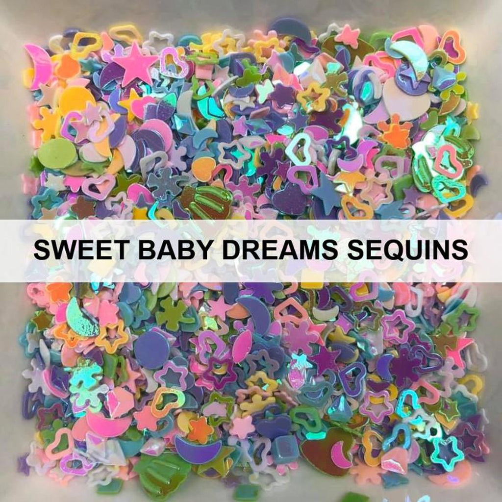 Sweet Baby Dreams - Sequins - Kat Scrappiness