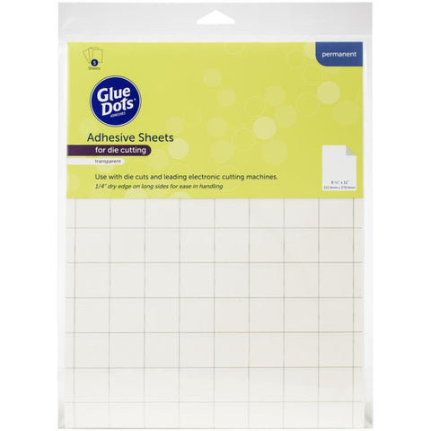 "Glue Dots Adhesive Sheets 8.5""X11"" 5/Pkg"