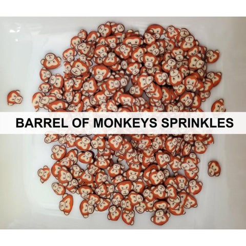 Barrel of Monkeys Sprinkles by Kat Scrappiness