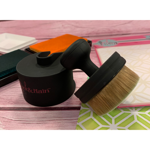 Ergonomic Blending Brush by Pink & Main - Kat Scrappiness