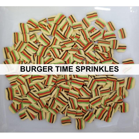 Burger Time Sprinkles by Kat Scrappiness