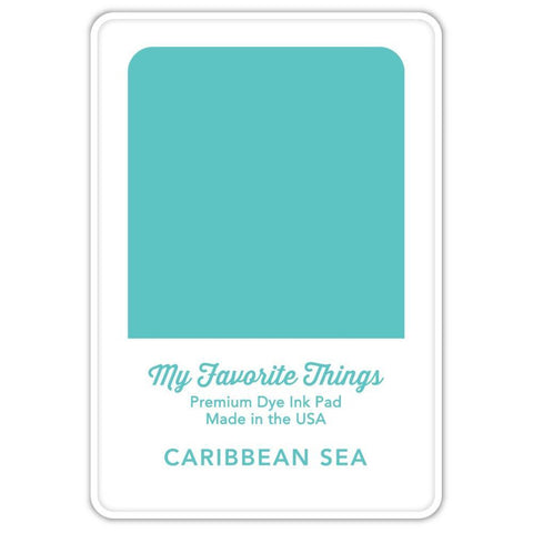 My Favorite Things Premium Dye Ink Pad - Caribbean Sea