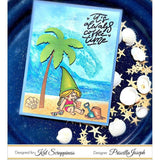 Summer Gnome Stamp Set by Kat Scrappiness - Kat Scrappiness