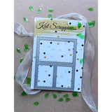 Stitched Scalloped Collage Frame Die by Kat Scrappiness