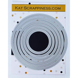 Double Stitched Circle Dies by Kat Scrappiness - NEW! - Kat Scrappiness