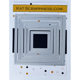 Double Stitched Square Dies by Kat Scrappiness - NEW! - Kat Scrappiness