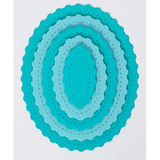 Stitched Fancy Scalloped Oval Dies by Kat Scrappiness - NEW! - Kat Scrappiness