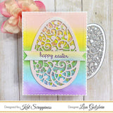 Large Filigree Egg Die by Kat Scrappiness - Kat Scrappiness