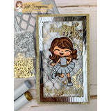 MINI Slimline Diamond Wire & Wood Grain Frame Die by Kat Scrappiness