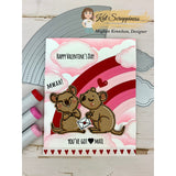 Valentine Quokka Stamp Set by Kat Scrappiness