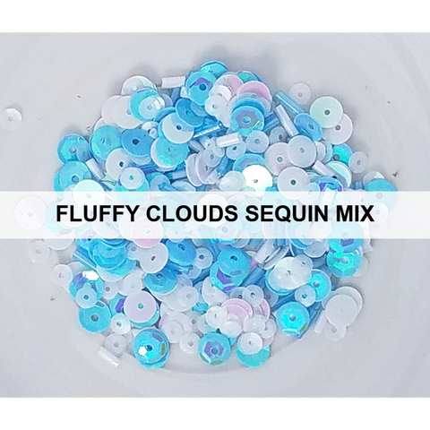 Fluffy Clouds Sequin Mix