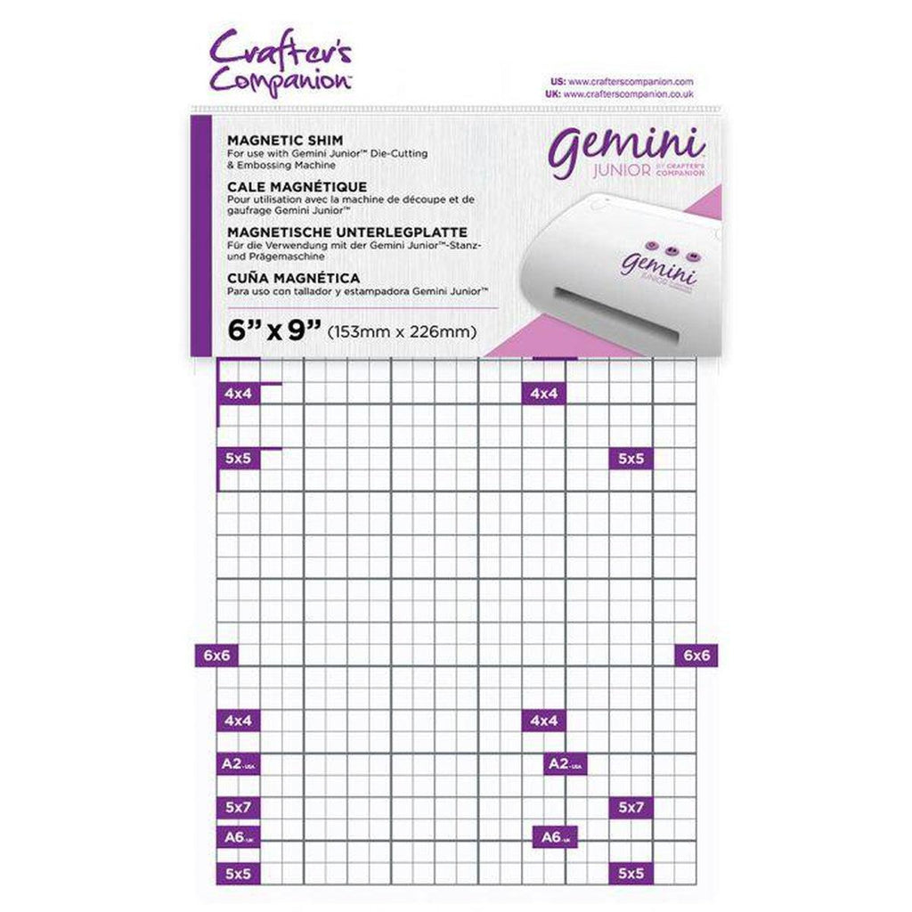 "NEW! Crafter's Companion Gemini Junior Magnetic Shim 6""X9"" - Kat Scrappiness"