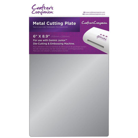 "Gemini Junior Metal Cutting Plate 6""X9"" - Kat Scrappiness"