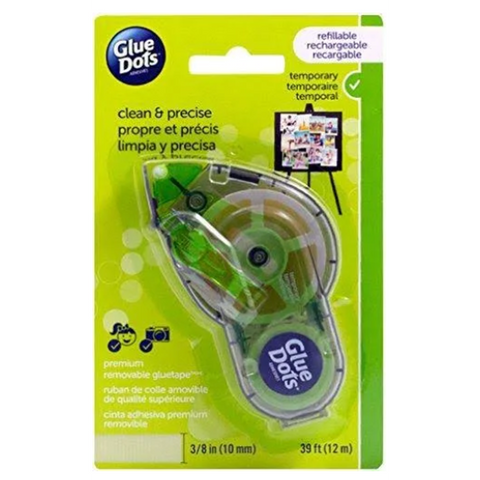 Glue Dots Removable Premium GlueTape Dispenser - 40901