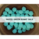 Pastel Green Bunny Tails - Kat Scrappiness