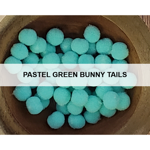 Pastel Teal Bunny Tails
