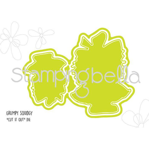 Grumpy Squidgy Craft Die by Stamping Bella