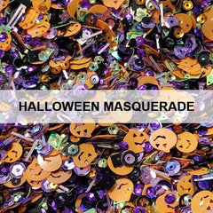 Halloween Masquerade Sequin Mix - Kat Scrappiness
