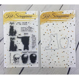 Toil & Trouble Layered Stamp Set with Matching Dies by Kat Scrappiness - Kat Scrappiness