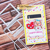 Happy Mail (Mailbox) Gift Card Holder Dies by Kat Scrappiness