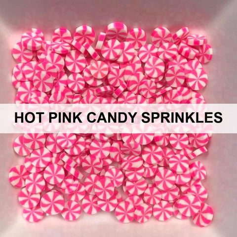 Hot Pink Candy Sprinkles by Kat Scrappiness - Kat Scrappiness